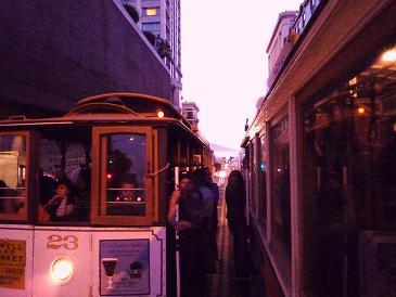 サンフランシスコ、ケーブルカー