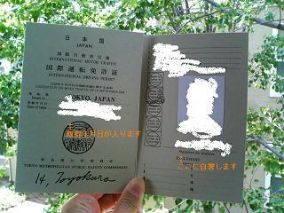 国際運転免許証、国外運転免許証